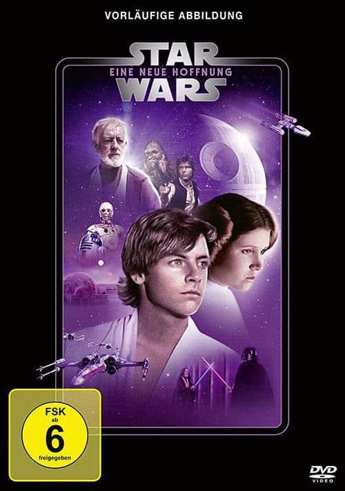 Star Wars Eine neue Hoffnung Line Look 2020 DVD Cover shop kaufen