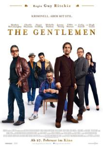 The Gentlemen Film 2020 Kino Plakat