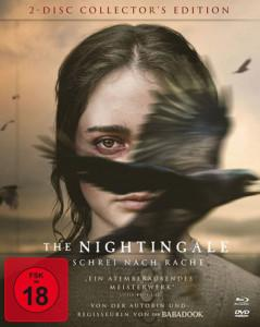 The Nightingale Schrei nach Rache Limitiertes Collection Mediabook Cover shop kaufen