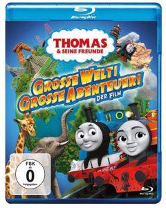 Thomas und seine Freunde Große Welt! Große Abenteuer! - The Movie Film 2020 Blu-ray cover shop kaufen