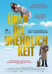 Über die Unendlichkeit Film 2020 Roy Andersson Kino Plakat