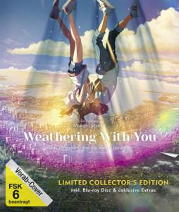 WEATHERING WITH YOU- Das Mädchen, das die Sonne berührte Limitierte Collectors edition blu-ray cover