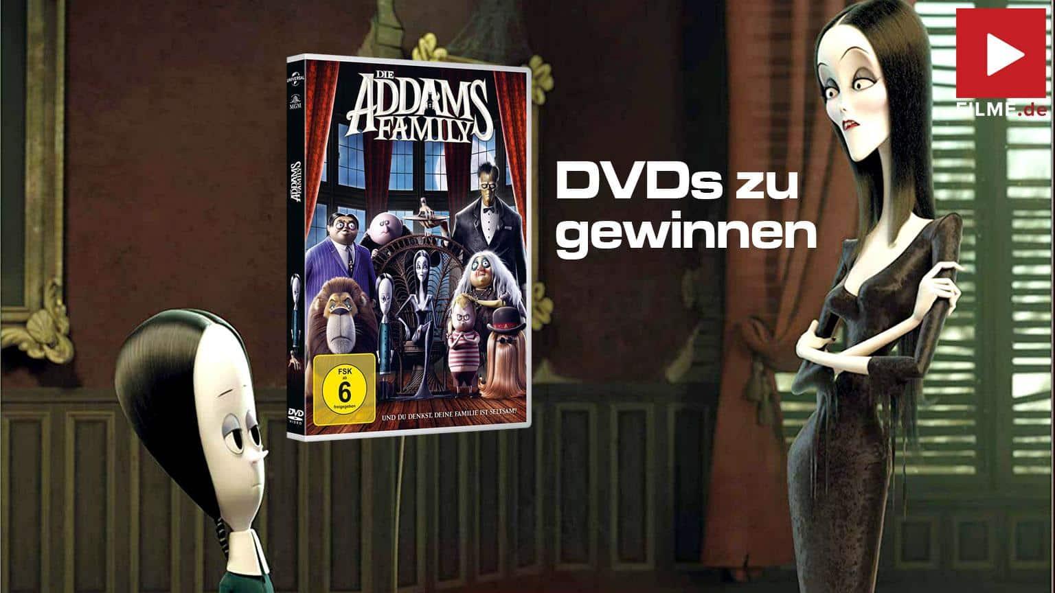 Die Addams Family Gewinnspiel Artikelbild