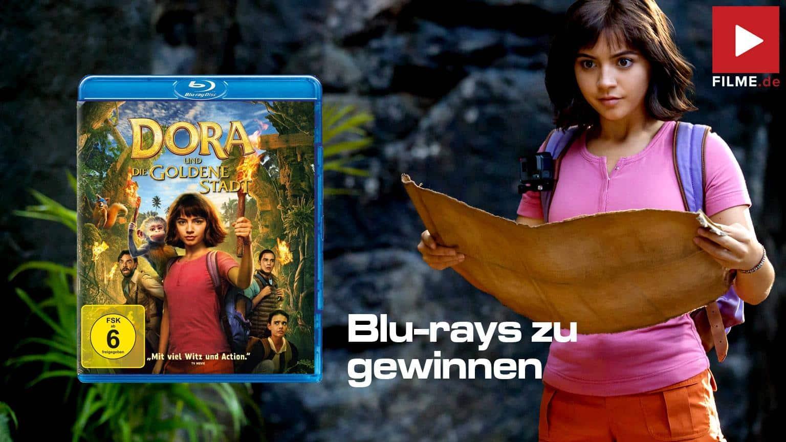 Dora und die verlassene Stadt Gewinnspiel Artikelnbild