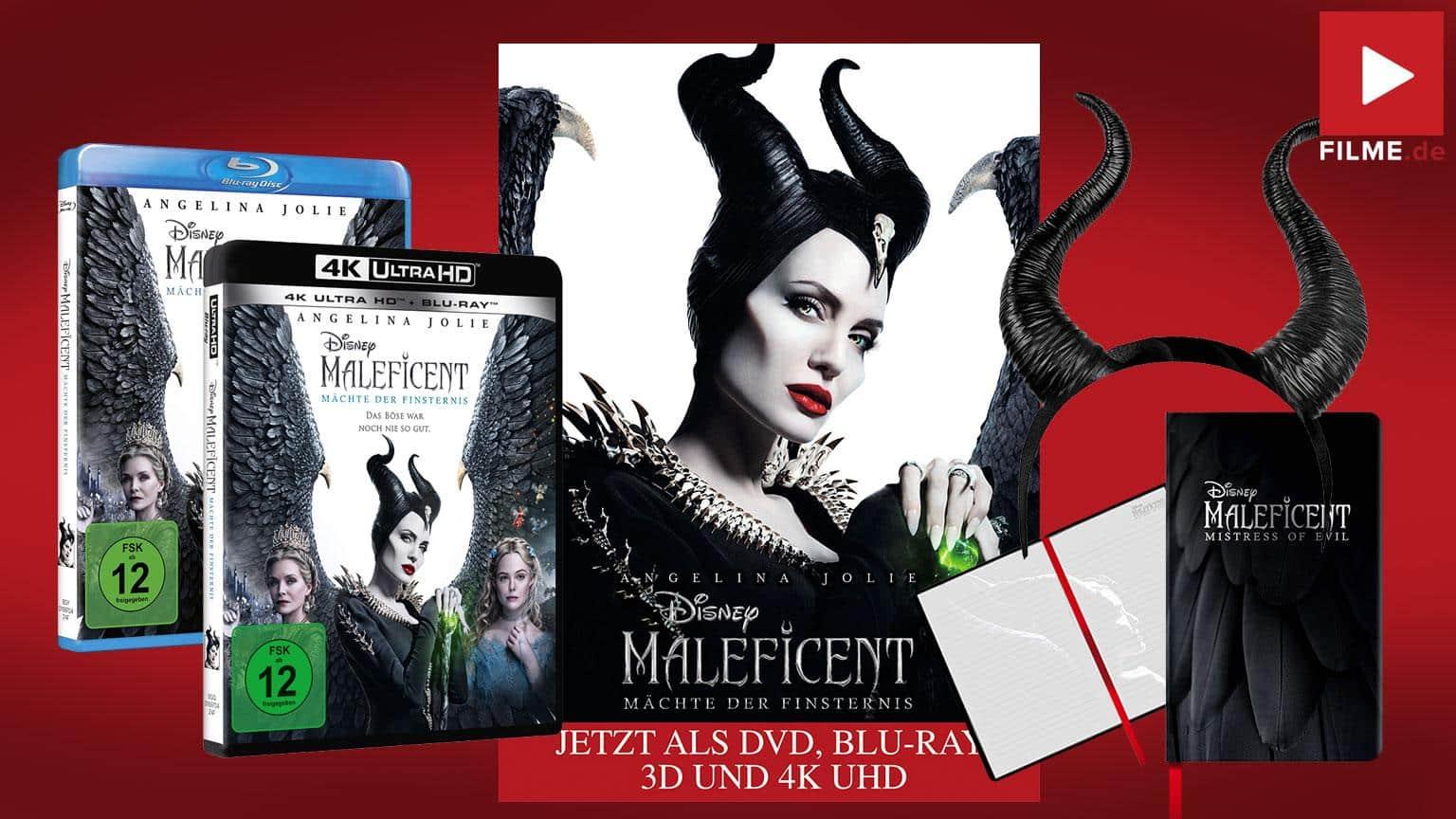 Maleficent: Mächte der Finsternis Blu-ray start 4K UHD Gewinnspiel Artikelbild