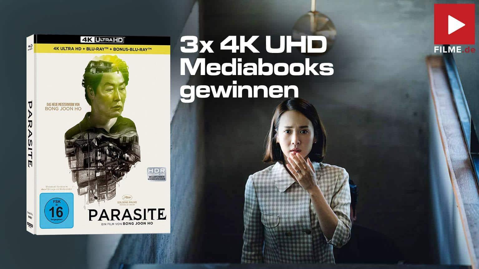 Parasite 4K UHD Mediabook Gewinnspiel Artikelbild