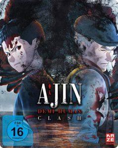 Ajin Clash Blu-ray Steelbook shop kaufen
