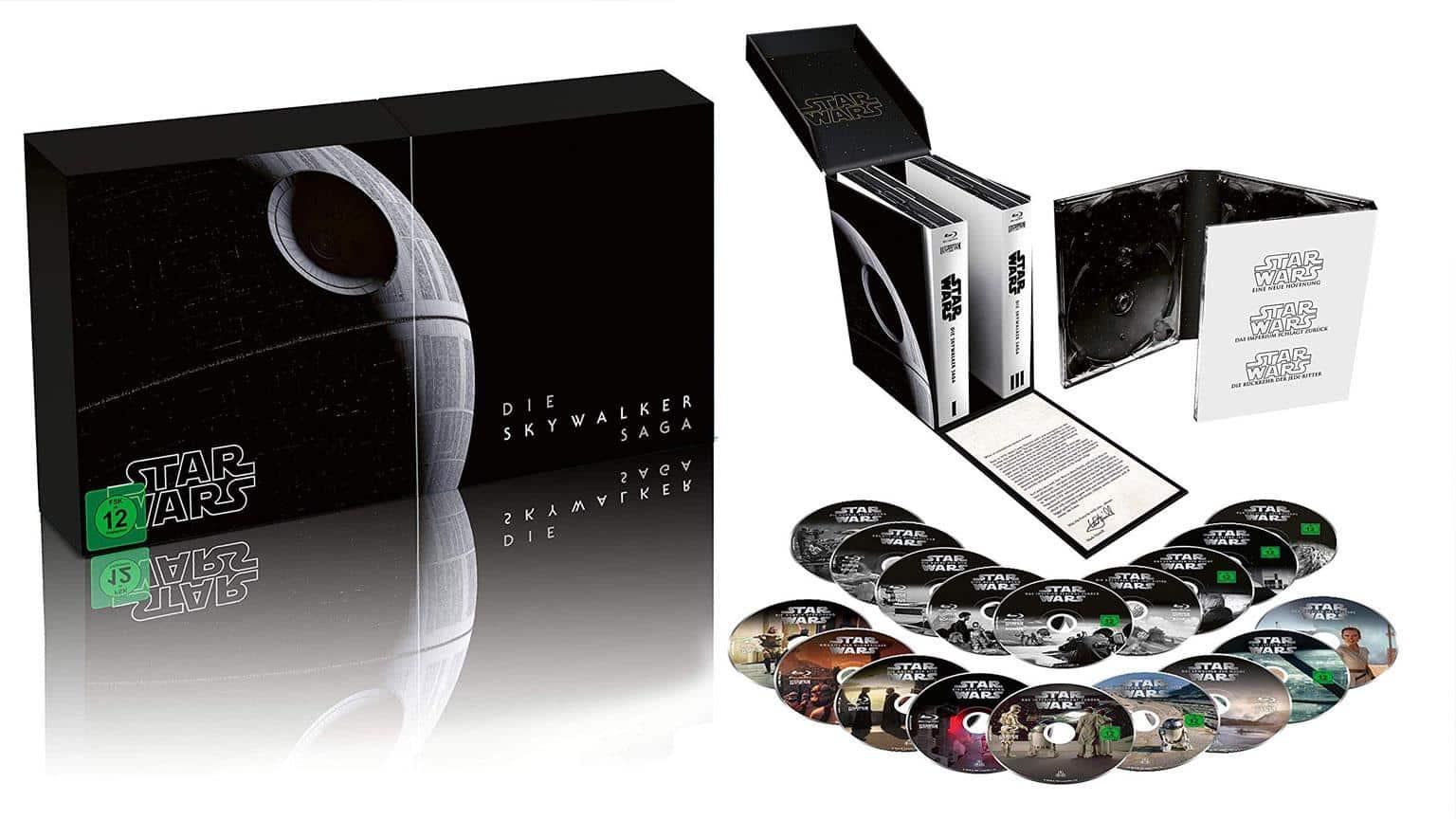 Star Wars 1 - 9 - Die Skywalker Saga Blu-ray Gesamtbox Edition shop kaufen 4K UHD Artikelbild