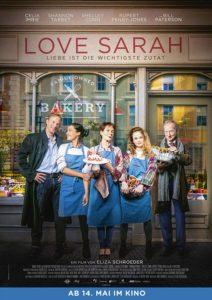 LOVE SARAH - LIEBE IST DIE WICHTIGSTE ZUTAT Film 2020 Kino Plakat
