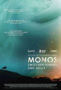 Monos Zwischen Himmel und Hölle Film 2020 Kino Plakat