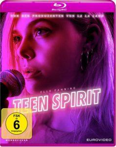 Teen Spirit Film 2019 Blu-ray cover