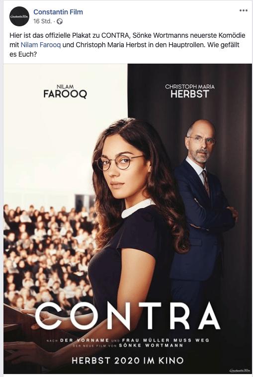 CONTRA 2020 Remake Film Kritik news Kaufen Shop