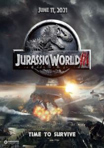 Jurassic World 3 Dominion Film 2021 Kino Plakat