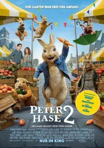 Peter Hase 2 Ein Hase macht sich vom Acker Film 2020 Starttermin verschoben Kino plakat