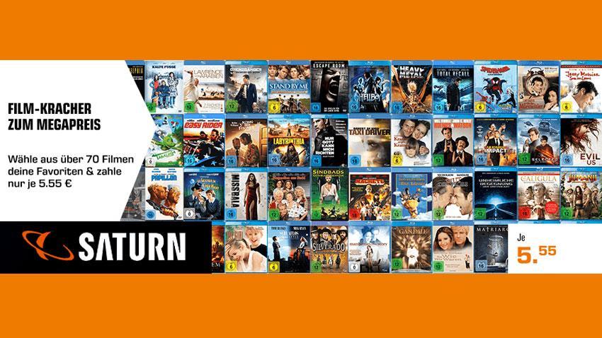 Deal Saturn.de Filmkracher für 5,55 Eur Artikelbild
