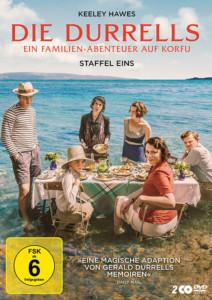 Die Durrells Staffel 1 TV-Serie 2020 DVD cover shop kaufen