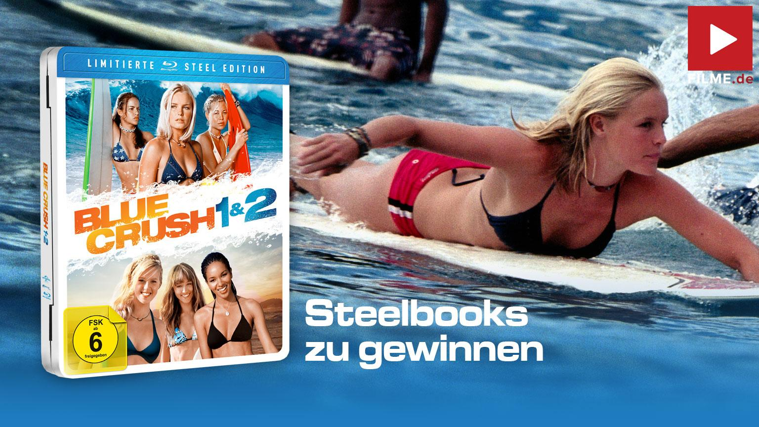 Blue Crush 1 & 2 ( Limitierte Steel Edition) [Blu-ray] Gewinnspiel Artikelbild