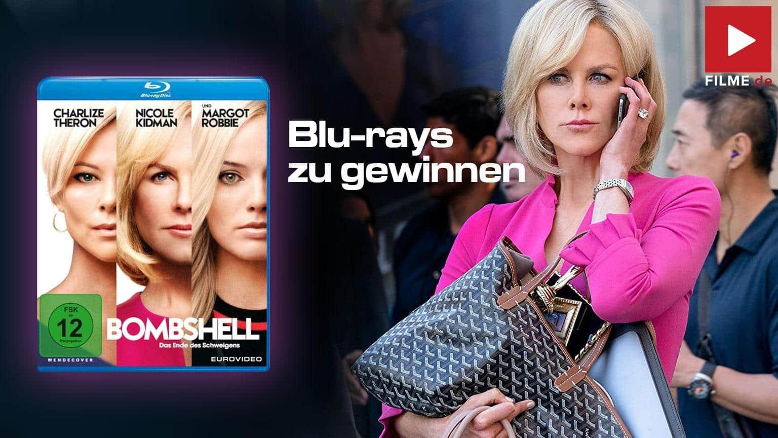 Bombshell - Das Ende des Schweigens [Blu-ray] Gewinnspiel shop kaufen Review gewinnen Artikelbild