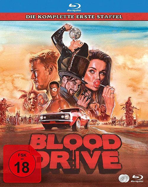 Blood Drive - Die Komplette Staffel 1 [Blu-ray] Blu-ray cover shop kaufen Kritik