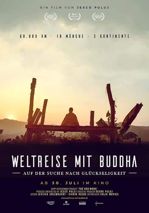 Weltreise mit Buddha Film 2020 Kino Plakat