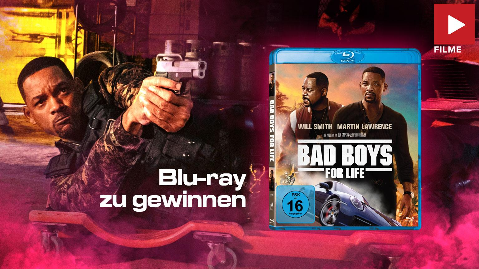 Bad Boys for Life Film 2020 Gewinnspiel Shop kaufen
