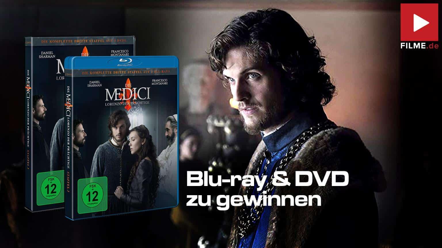 Die Medici: Lorenzo der Prächtige - Die komplette dritte Staffel Gewinnspiel shop kaufen