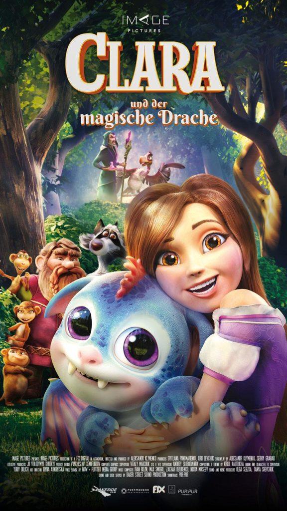 CLARA UND DER MAGISCHE DRACHE 2019 Film Kino Kaufen Shop News Trailer Kritik