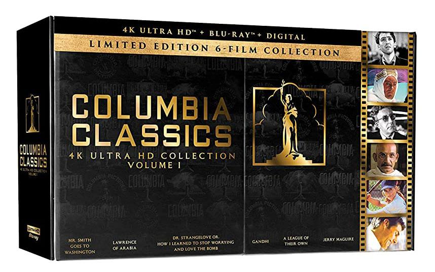 Columbia Classics Box 4K UHD 6 Filme in einer Box shop kaufen