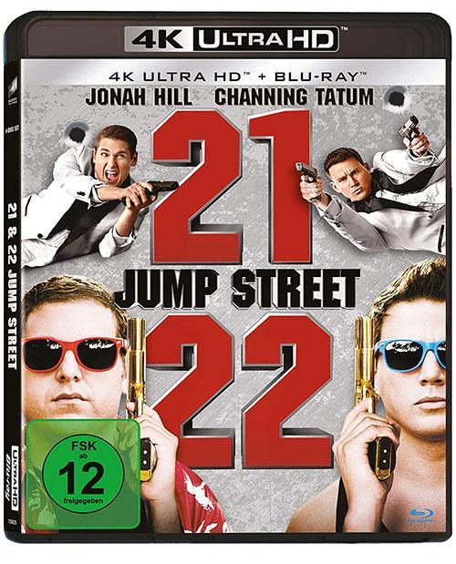 21 Jump Street & 22 Jump Street (4K UHD SteelBook) [Blu-ray] shop kaufen