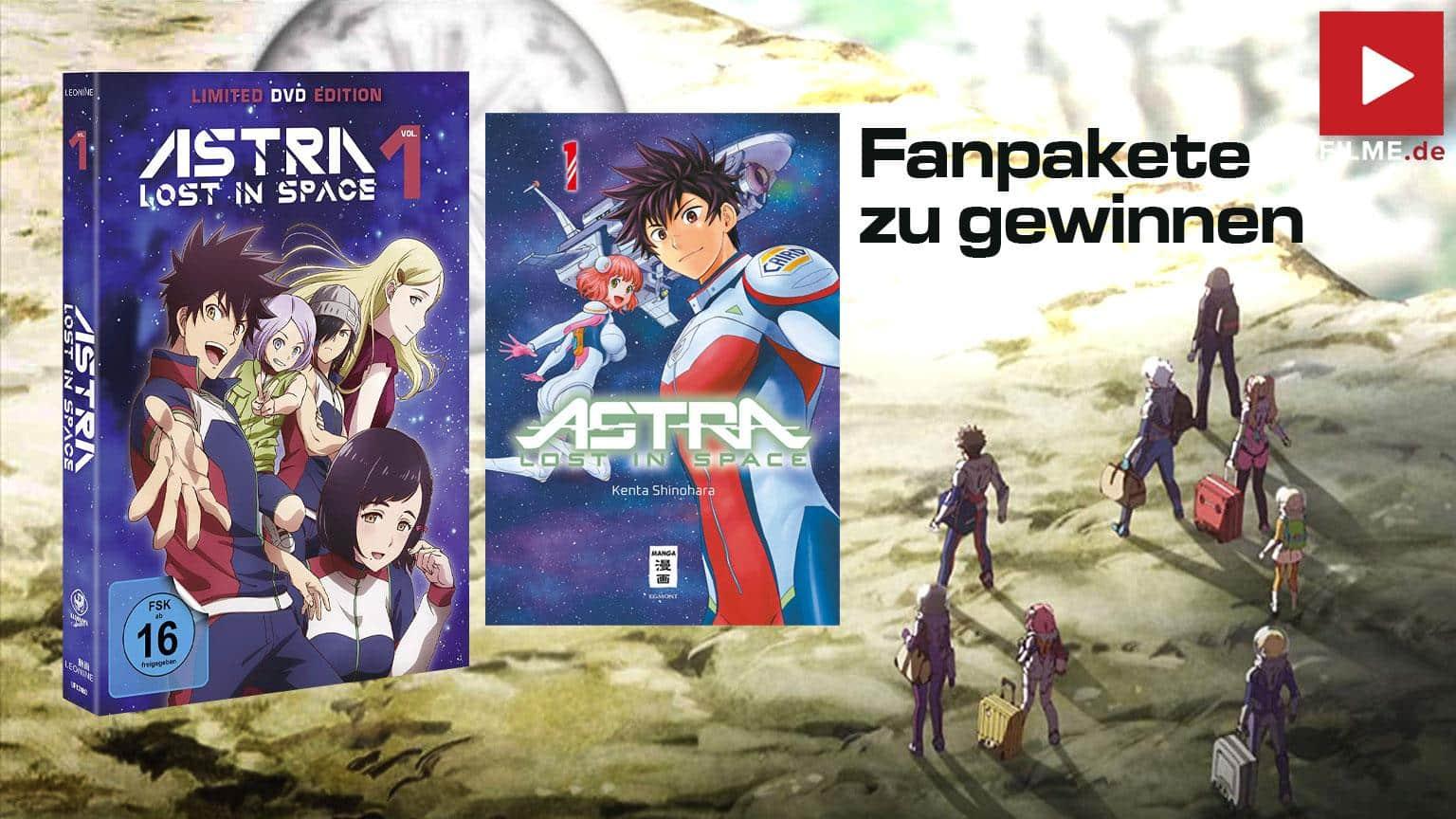 Astra Lost in Space - Vol. 1 - Gewinnspiel gewinnen Blu-ray DVD shop kaufen