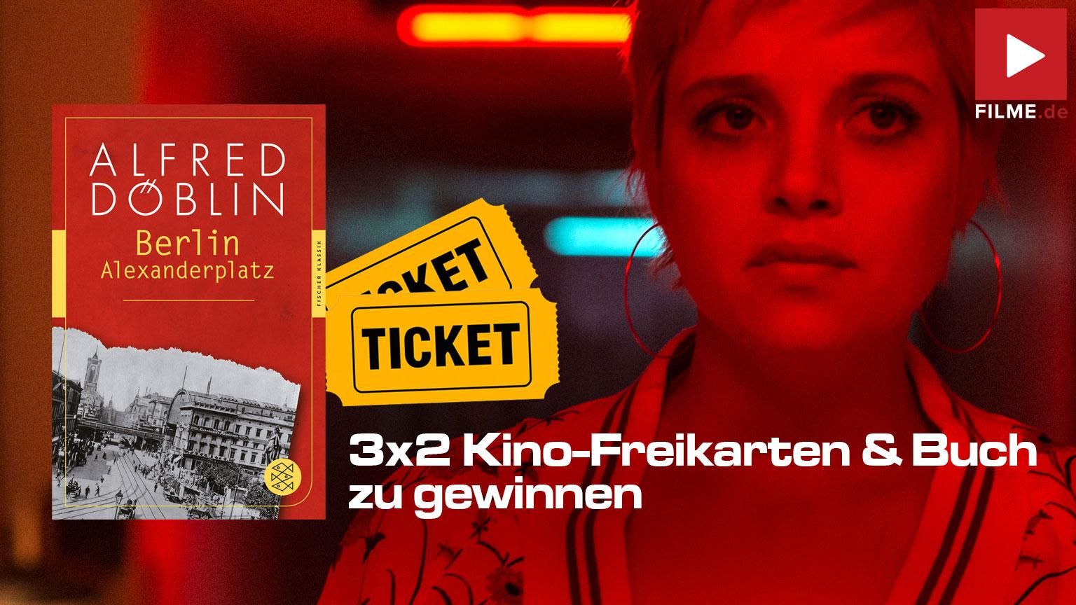 Berlin Alexanderplatz Film 2020 Kino Freikarten Gewinnspiel Artikelbild