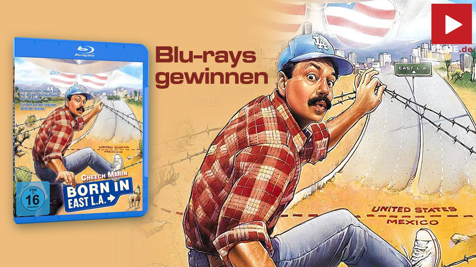 Born in East L.A. Gewinnspiel Artikelbild Blu-ray shop kaufen