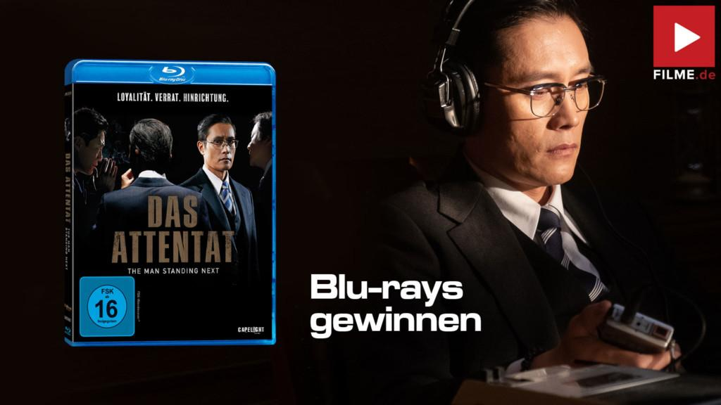 DAS ATTENTAT - THE MAN STANDING NEXT Gewinnspiel gewinnen Film 2020 shop kaufen Review Kritik Artikelbild