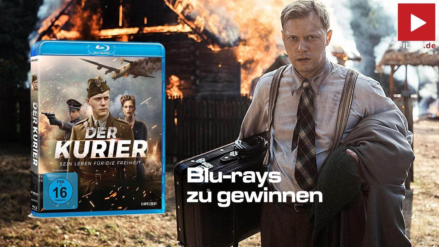 Gewinnspiel Der Kurier - Sein Leben für die Freiheit Blu-ray DVD shop kaufen gewinnen Artikelbild