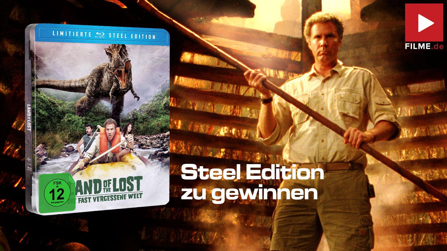 Die fast vergessene Welt Limited Steel Edition Future Pak Gewinnspiel Artikelbild shop kaufen