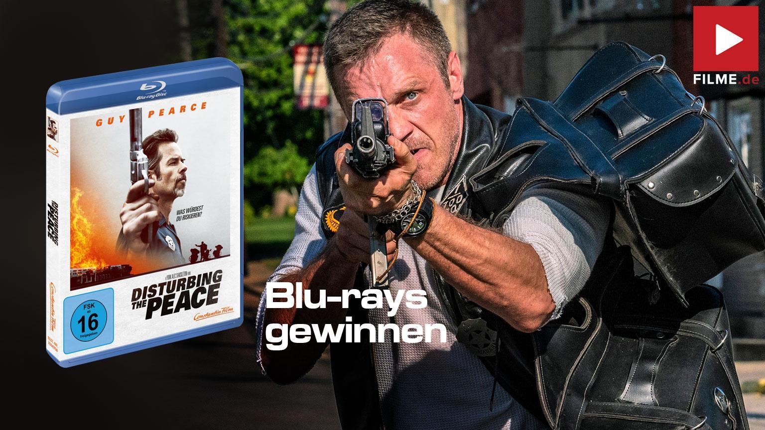 Disturbing The Peace [Blu-ray] Film 2020 Gewinnspiel gewinnen Artikelbild