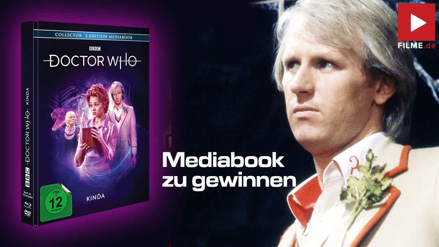Doctor Who - Fünfter Doktor - Kinda LTD. - ltd. Mediabook (+ DVD) [Blu-ray] Gewinnspiel Artikelbild shop kaufen