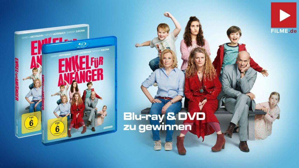 Gewinnspiel Enkel für Anfänger Film 2020 2019 Blu-ray DVD Cover shop kaufen Artikelbild