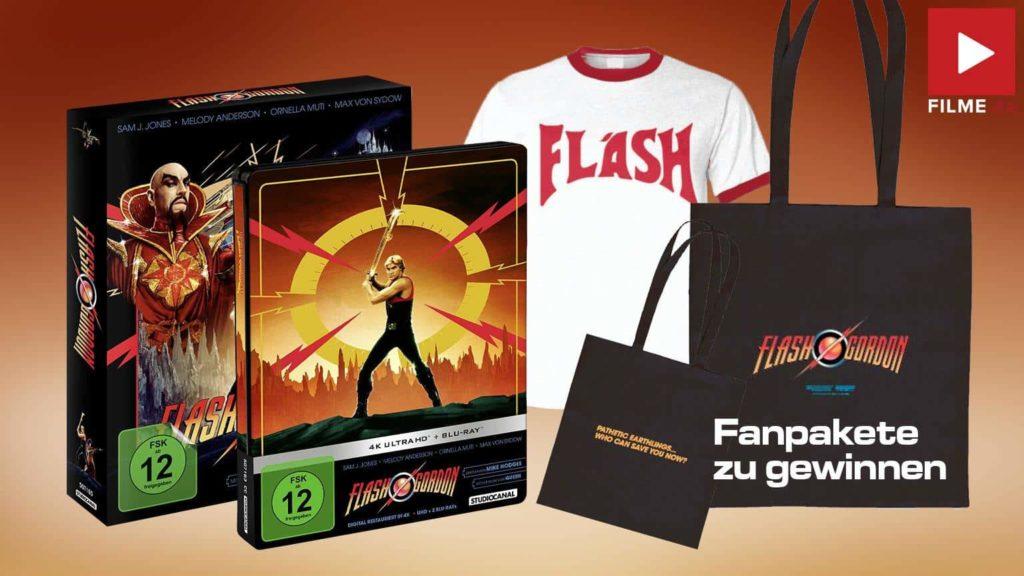 Flash Gordon - Limited Steelbook Edition (4K Ultra HD + Blu-ray) Gewinnspiel Artikelbild shop kaufen gewinnen