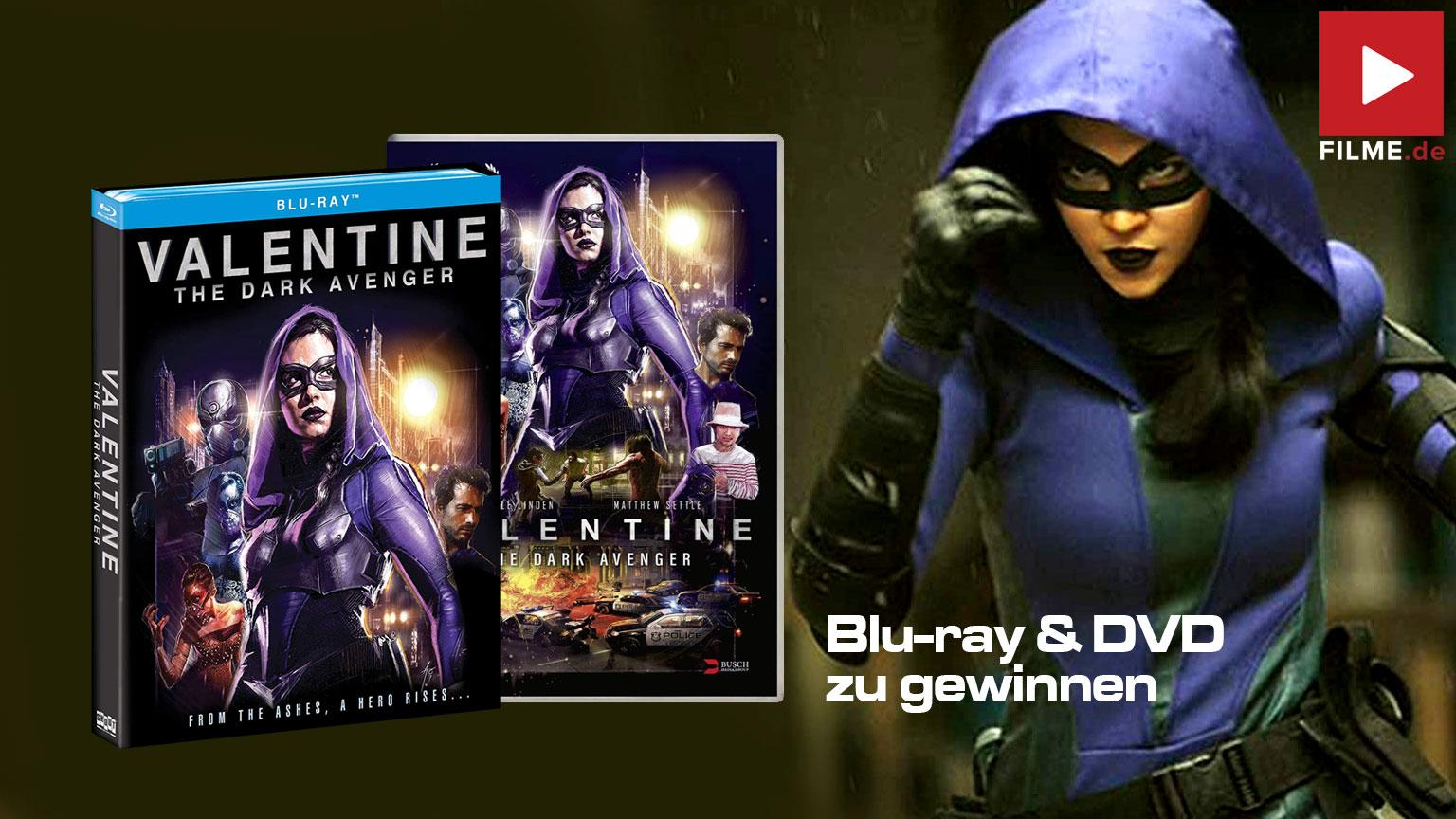 Valentine the Dark Avenger Film 2020 Gewinnspiel gewinnen shop kaufen Artikelbild