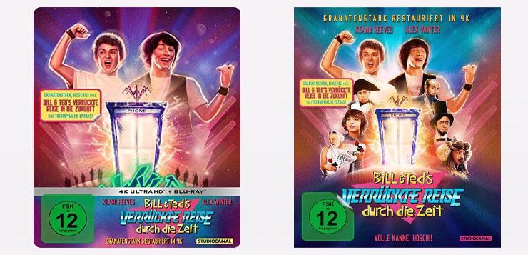 BILL & TEDS VERRÜCKTE REISE DURCH DIE ZEIT 1989 Film 2020 Kaufen Shop Steelbook Collectors Edition 4K UHD News Kritik