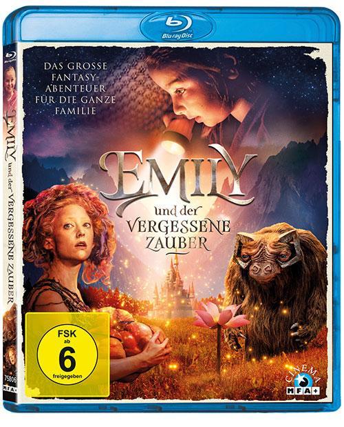 EMILY UND DER VERGESSENE ZAUBER Film 2019 shop kaufen Blu-ray Cover