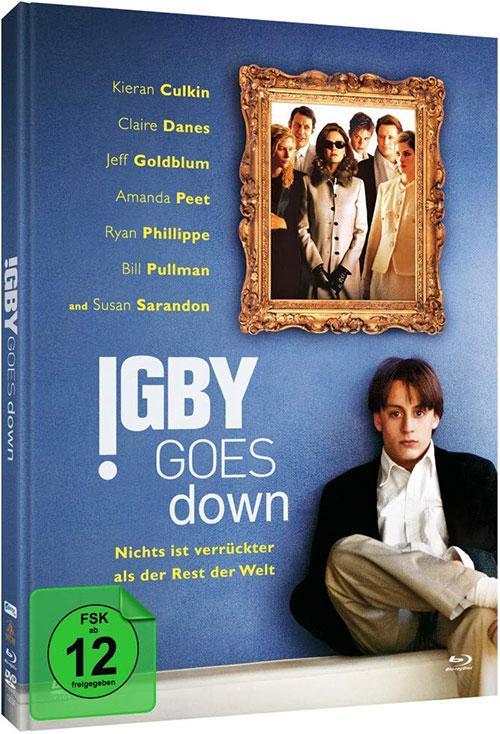 Igby Goes Down Film 2002 Limitiertes Mediabook shop kaufen Kritik 2020 Blu-ray Cover