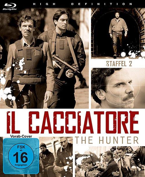 Il Cacciator Staffel 2 shop kaufen Blu-ray COver