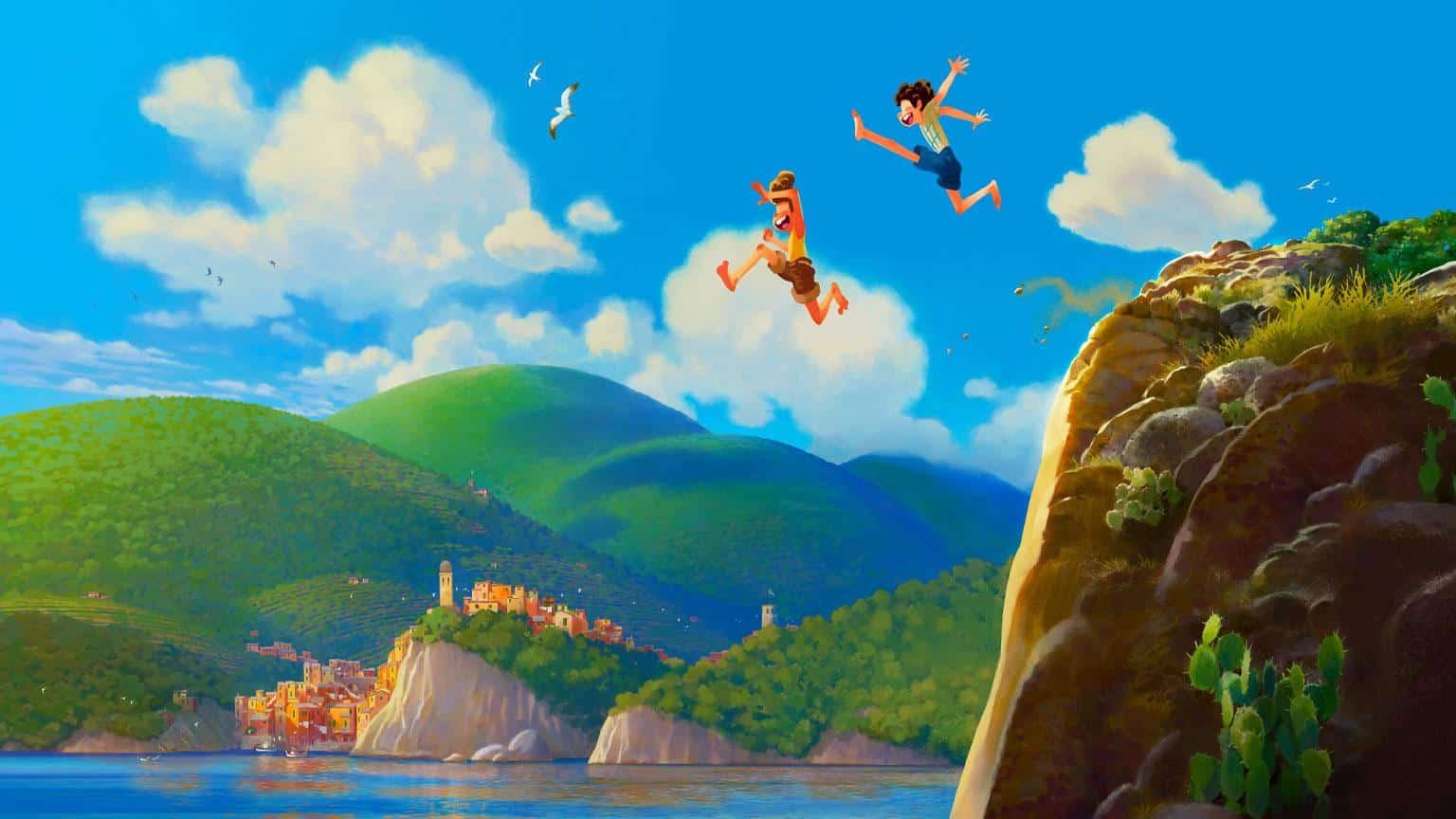 Luca Disney Film 2021 Pixar Artikelbild