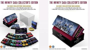 The Infinity Saga Collector's Edition Komplettes Boxset als UK Import bei Amazon Kaufen Shop News Kritik