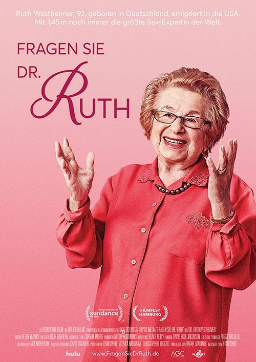 Fragen Sie Dr. Ruth Film 2020 Sexexpertin Kino Plakat shop kaufen