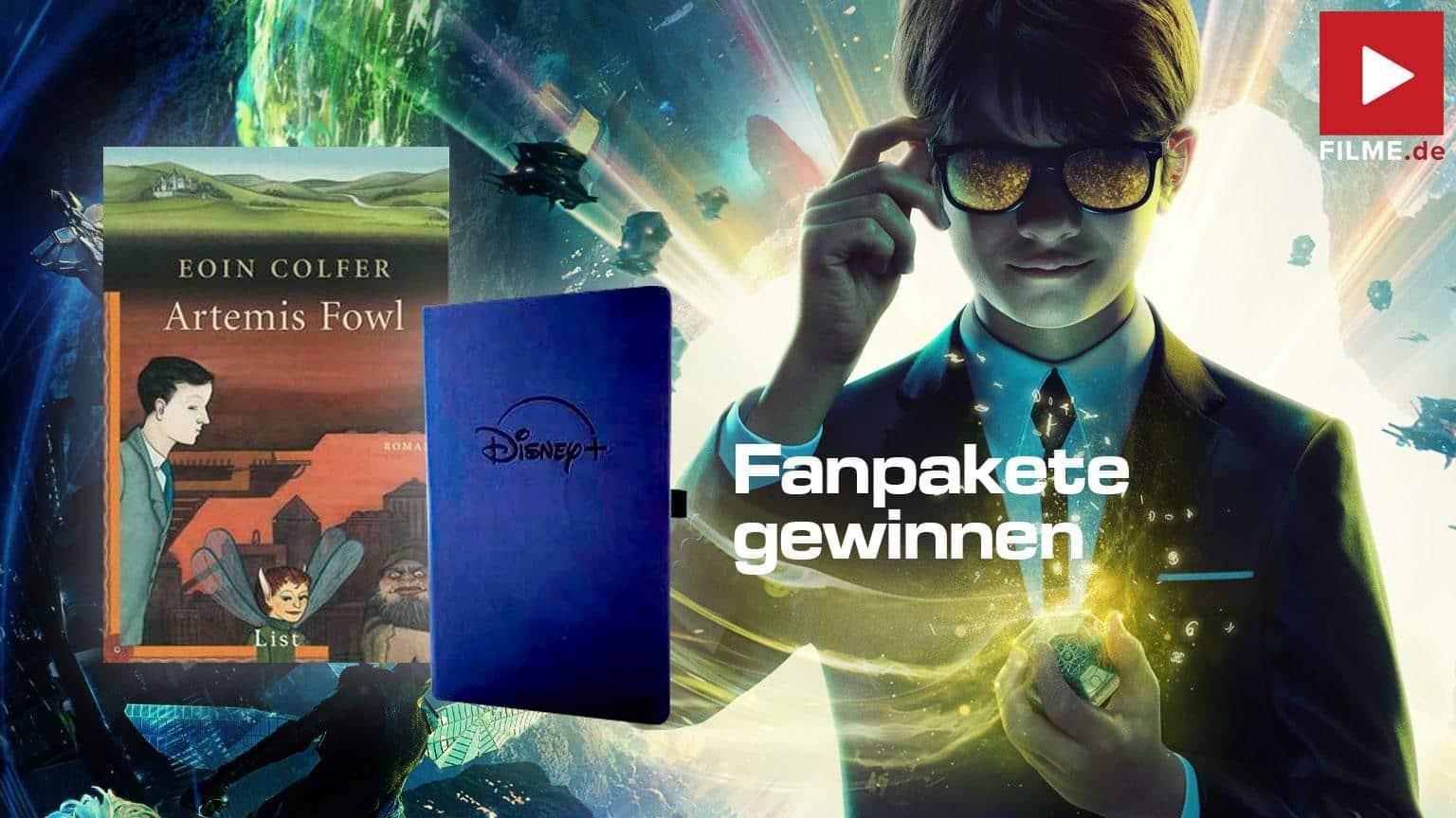Artemis Fowl Film 2020 Disney+ Gewinnspiel shop kaufen Artikelbild