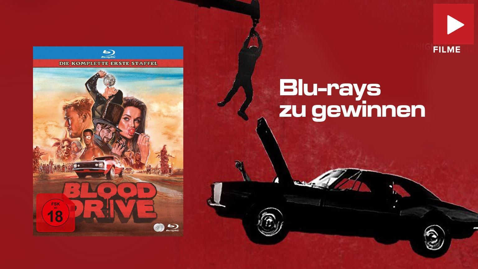 Blood Drive Staffel 1 Gewinnspiel gewinnen shop kaufen Artikelbild