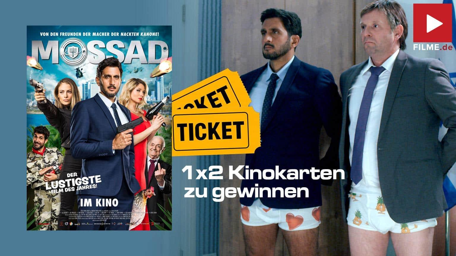 Mossad Film 2020 Gewinnspiel shop kaufen Artikelbild Kinostart